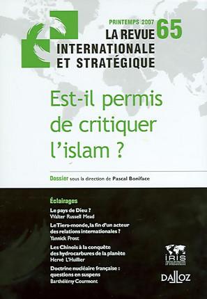 Revue internationale et stratégique, printemps 2007 N°65
