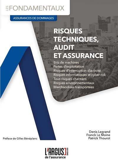 Risques techniques, audit et assurances