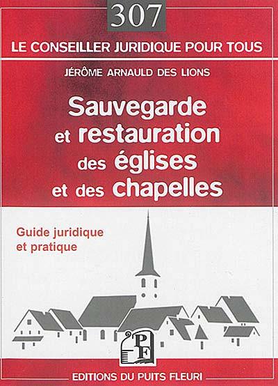 Sauvegarde et restauration des églises et des chapelles