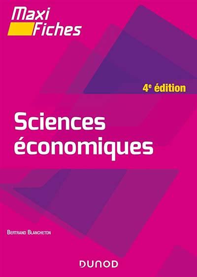 Sciences économiques