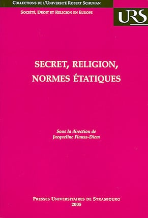 Secret, religion, normes étatiques