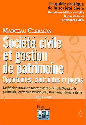 Société civile et gestion de patrimoine
