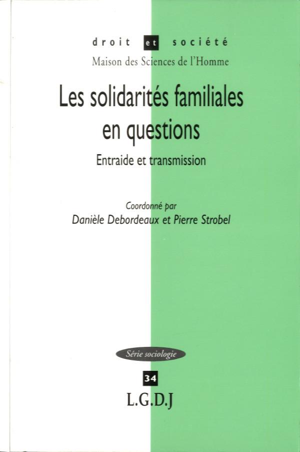 Solidarités familiales en questions