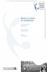 Sport et droit du numérique