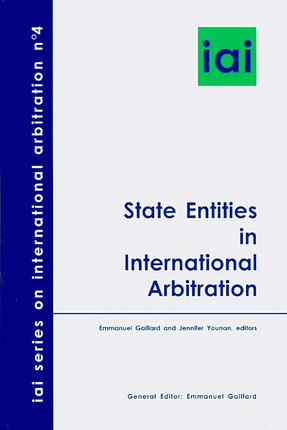 State Entities in International Arbitration N°4