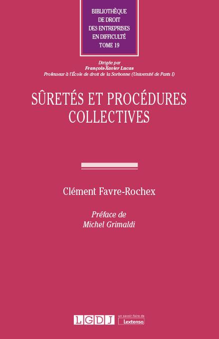 Sûretés et procédures collectives