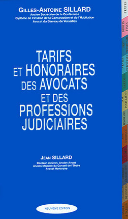 Tarifs et honoraires des avocats et des professions judiciaires