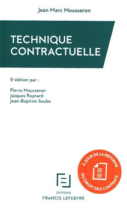 Technique contractuelle