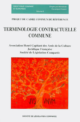 Terminologie contractuelle commune