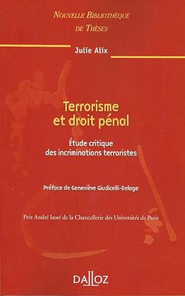 Terrorisme et droit pénal