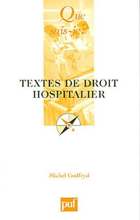 Textes de droit hospitalier