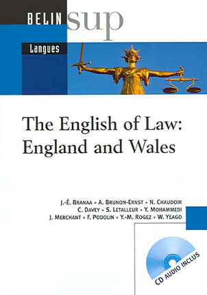 The English of Law : England and Wales (1 livre + 1 CD-Rom)