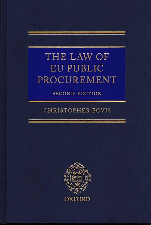 The Law of EU Public Procurement