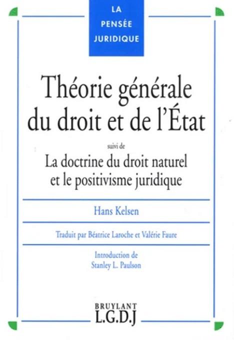Théorie générale du droit et de l'État