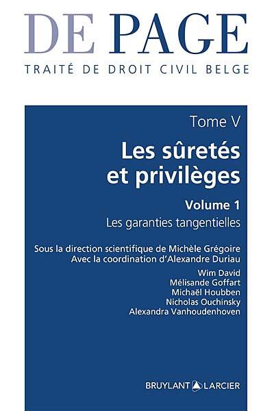Traité de droit civil belge