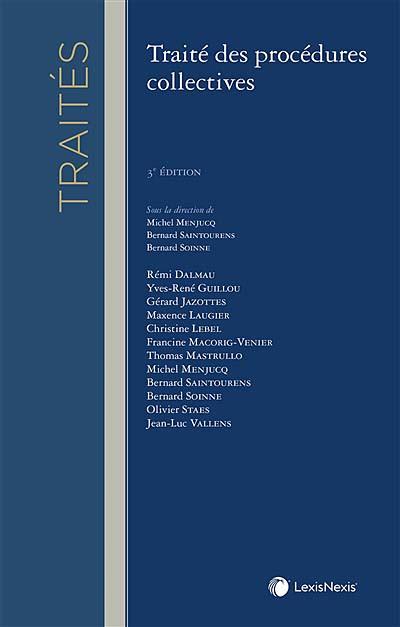 Traité des procédures collectives