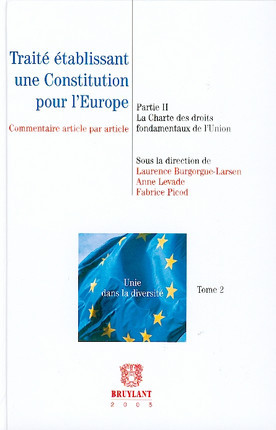 Traité établissement une Constitution pour l'Europe