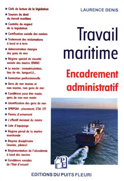 Travail maritime : encadrement administratif