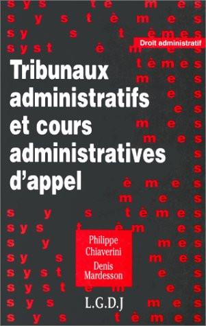 Tribunaux administratifs et cours administratives d'appel