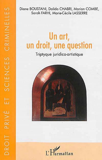 Un art, un droit, une question