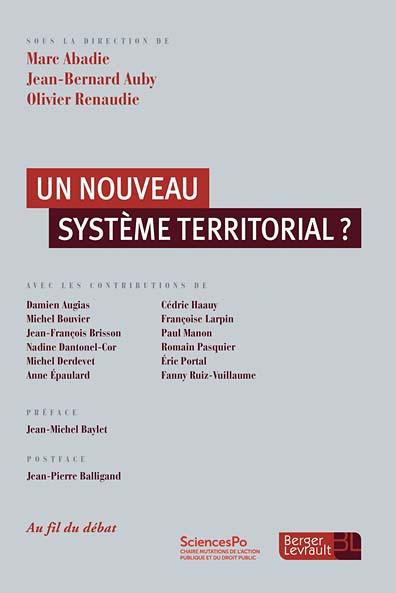 Un nouveau système territorial ?