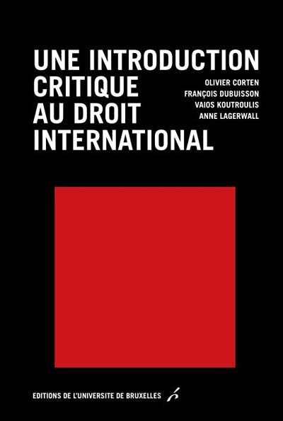 Une introduction critique du droit international
