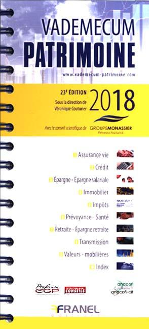 Vademecum patrimoine 2018