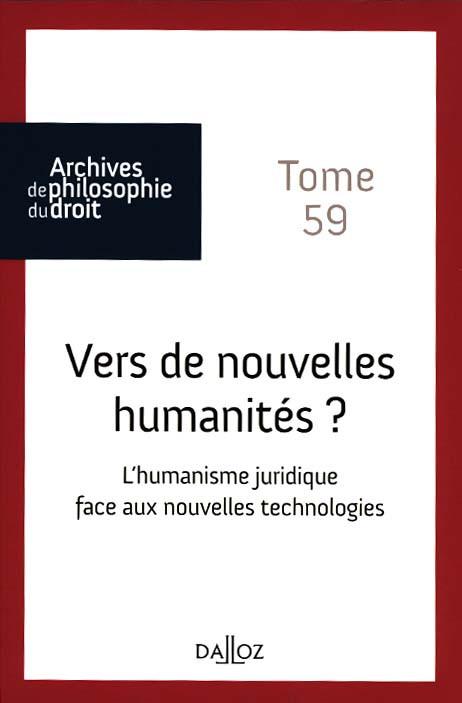 Vers de nouvelles humanités ?