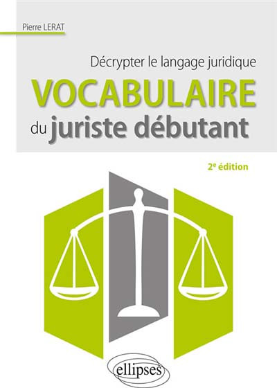 Vocabulaire du juriste débutant