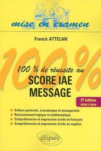 100% de réussite au SCORE IAE Message