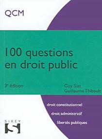100 questions en droit public (mini format)