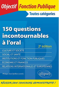 150 questions incontournables à l'oral