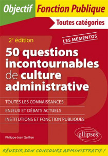 50 questions incontournables de culture administrative