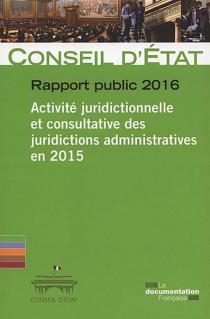 Activité juridictionnelle et consultative des juridictions administratives en 2015