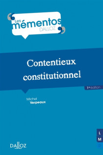 Contentieux constitutionnel