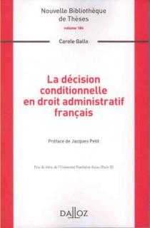 La décision constitutionnelle en droit administratif français