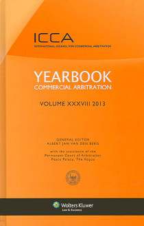 Yearbook Commercial Arbitration 2013