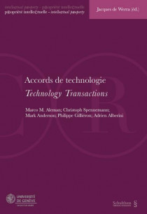 Accords de technologie - Technology Transactions