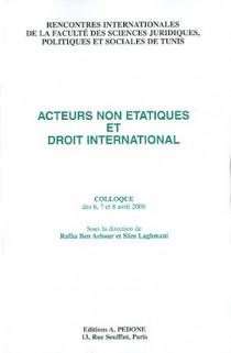 Acteurs non étatiques et droit international