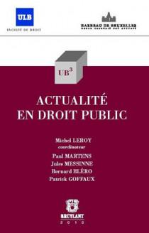 Actualité en droit public