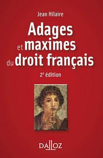 Adages et maximes du droit français (mini format)