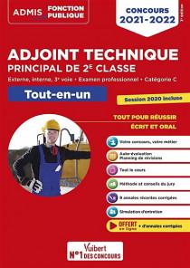 Adjoint technique principal de 2e classe : concours 2021-2022