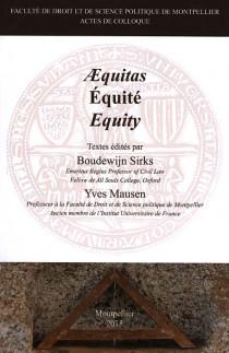 Aequitas - Equité - Equity