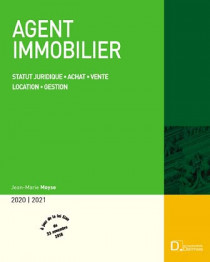 Agent immobilier 2020-2021