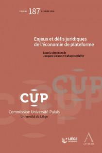 Enjeux et défis juridiques de l'économie de plateforme