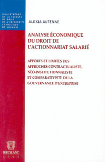 Analyse économique du droit de l'actionnariat salarié