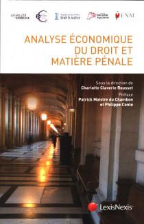 Analyse économique du droit et matière pénale