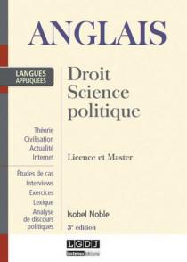 Anglais : droit, sciences politiques