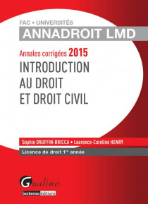 AnnaDroit LMD - Introduction au droit et droit civil