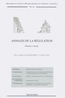 Annales de la régulation 2009